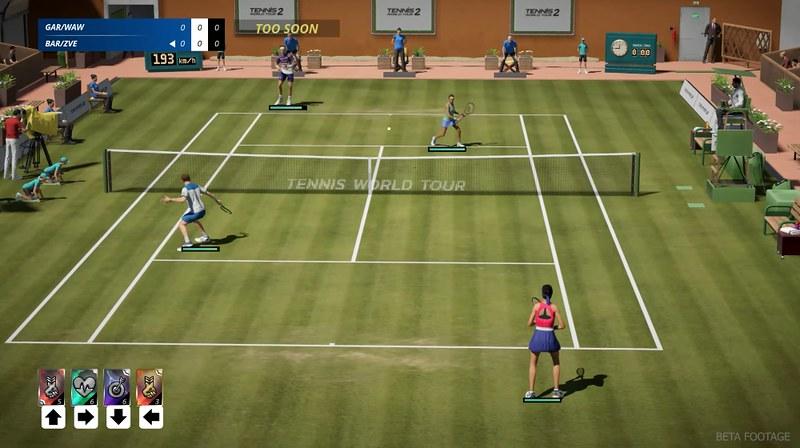Tenis World Tour 2 - čtyřhra