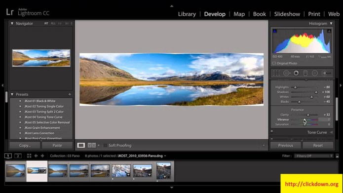 Working with Adobe Photoshop Lightroom CC 3.2.0 full license