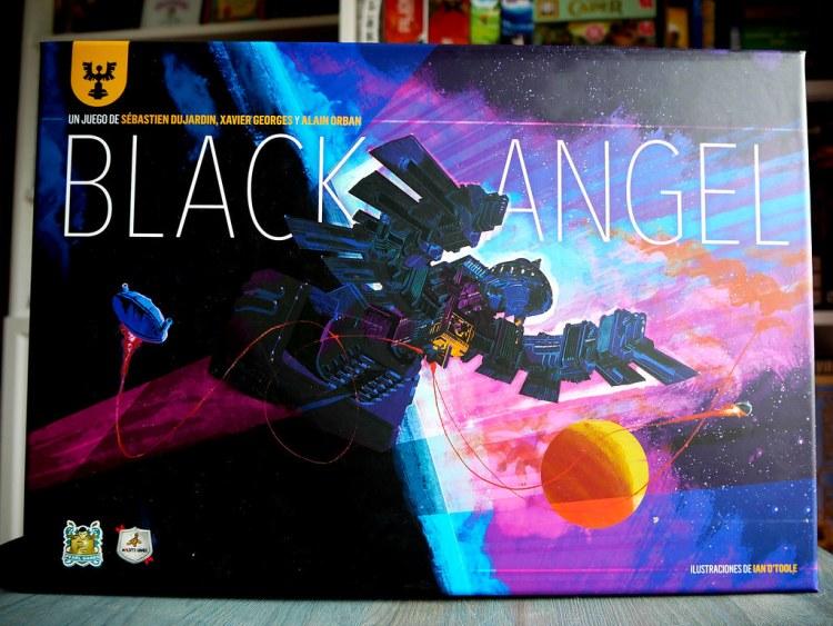 BLACK ANGEL CAJA