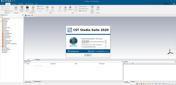 Working with DS SIMULIA CST STUDIO SUITE 2020.03 SP3 full license