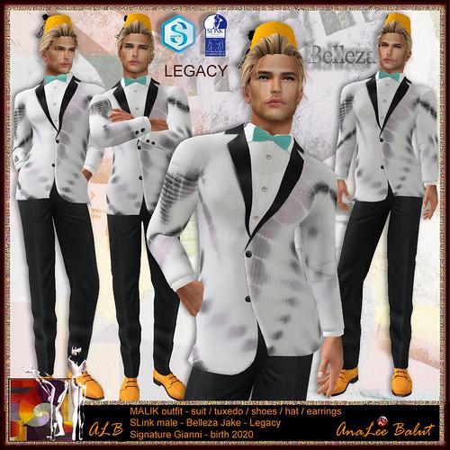 ALB MALIK outfit - SLink Belleza Signature Legacy