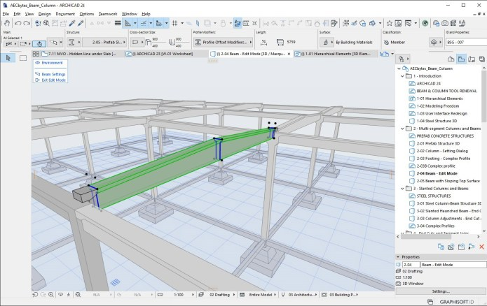 Working with ARCHICAD 24.3008 full