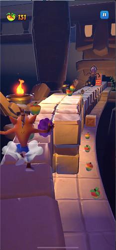 Crash Bandicoot_ On the Run! - Gameplay Screenshot 3