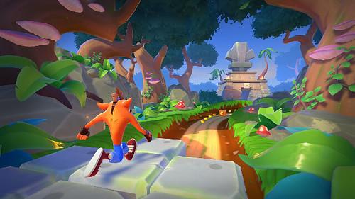 Crash Bandicoot_ On the Run! - Turtle Woods