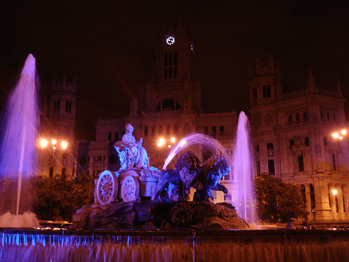 Madrid Fuente-de-Cibeles