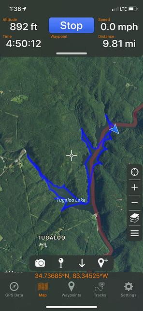2020-07-09 Lake Tugaloo