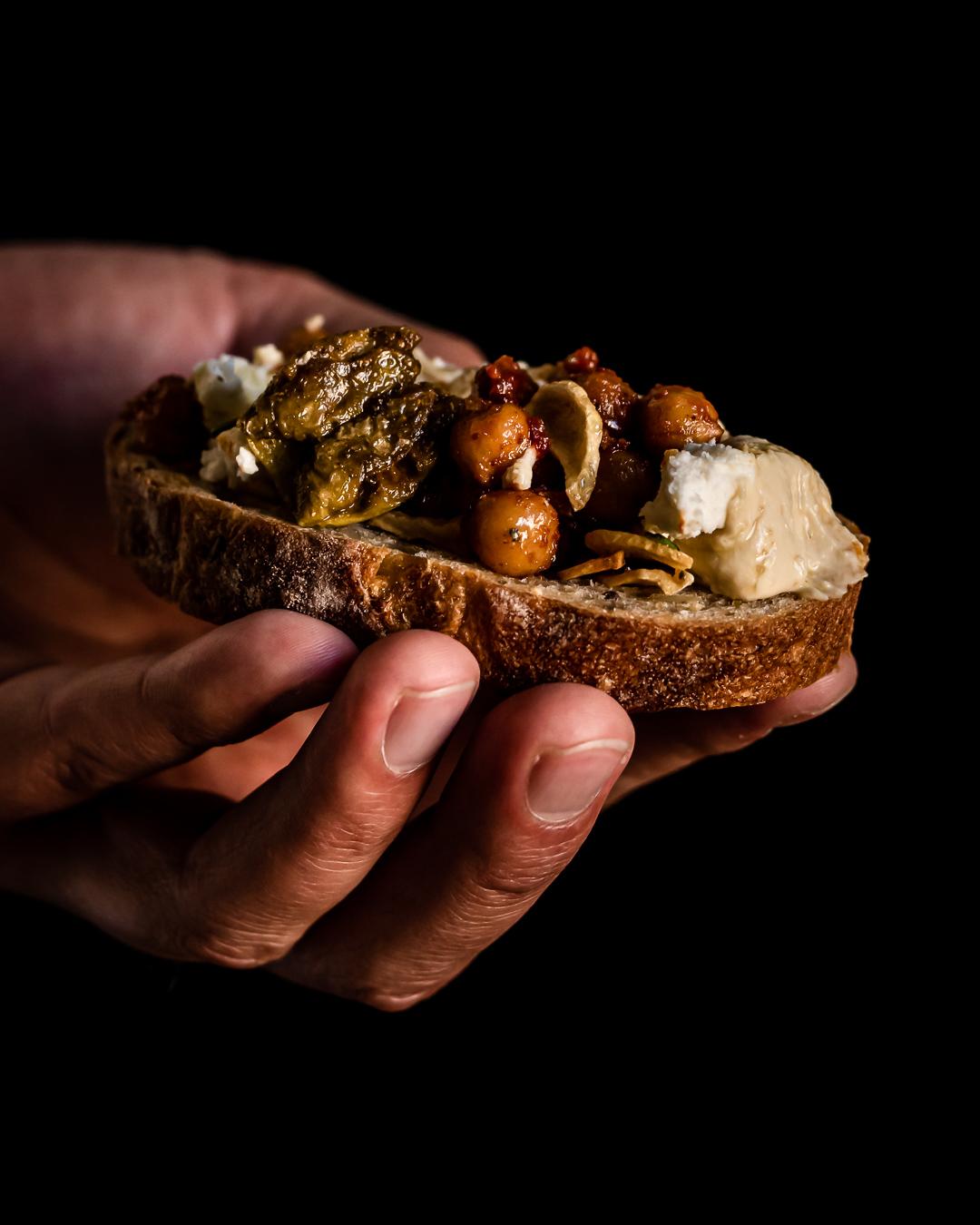 hummus leipä