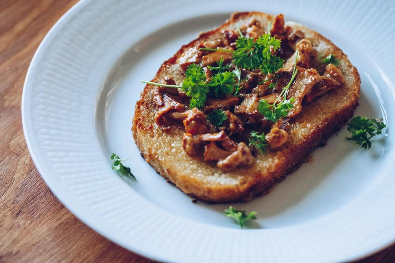 Chantarelle sandwich - reaktionista.se