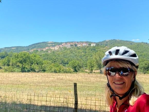 Toskana: auf jedem Hügel ein Dörfchen