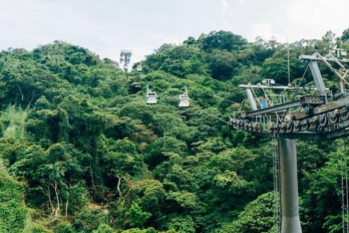 Maokong cable car back to Taipei