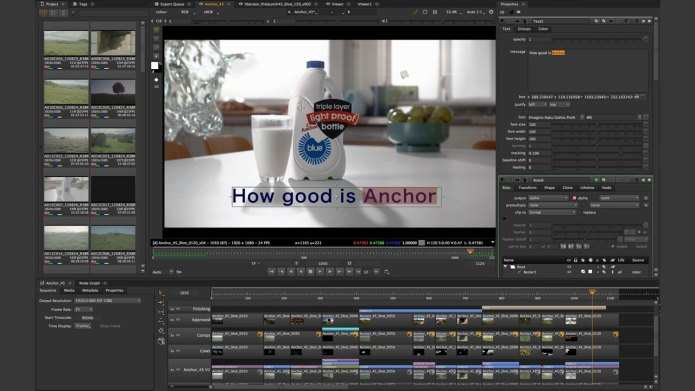 Working with The Foundry Nuke Studio 12.1v4 full