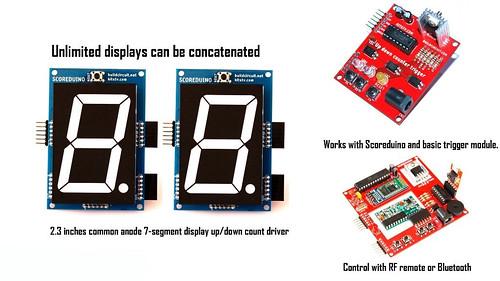 2.3 inch seven segment display driver (4)