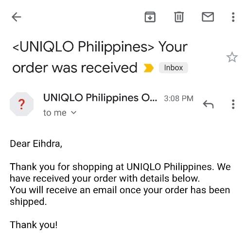 Uniqlo Online Store
