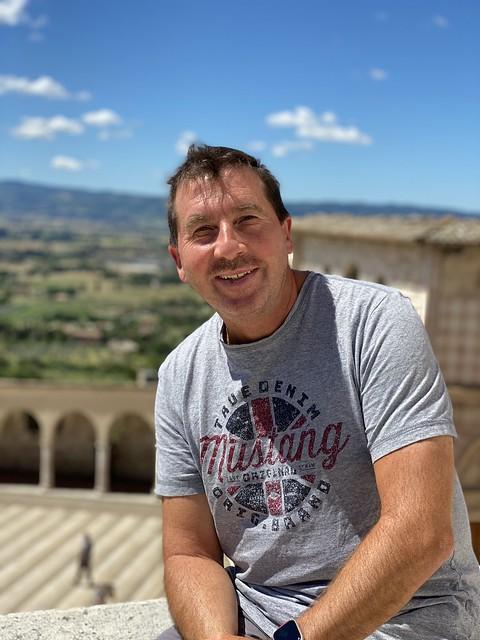 Toni in Assisi