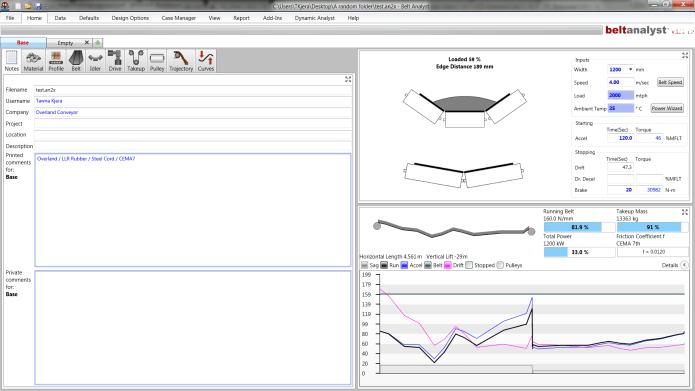 Working with Overland Conveyor Belt Analyst 16.0.17.0 full