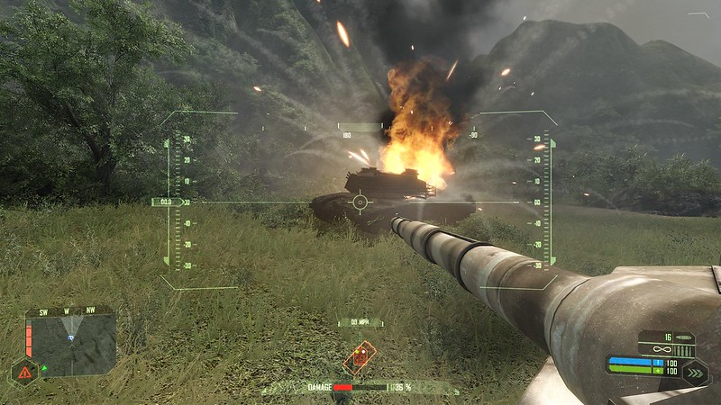 Crysis - Ultra Settings - Tanks