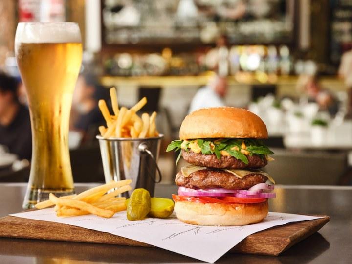 Crossroads - 100% Wagyu Beef Burger
