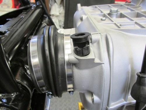 Speedometer Drive Transmission Bushing Orientation