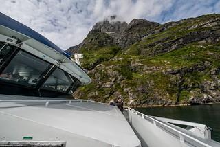 Express boat Bergen-Selje - Bremangerlandet | Photo ID ...