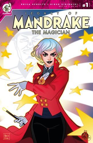 MANDRAKE #1 Main Cover