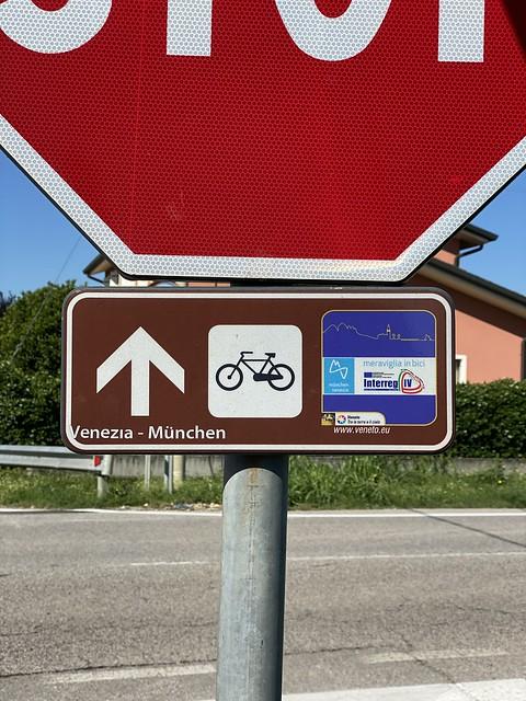 Radweg München Venedig