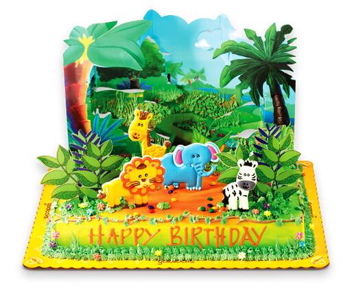 Goldilocks Themed Cakes Safari-Adventure