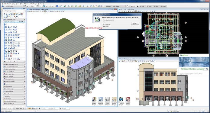Working with Bentley AECOsim Building Designer V8i.SS5 08.11.09.747 full