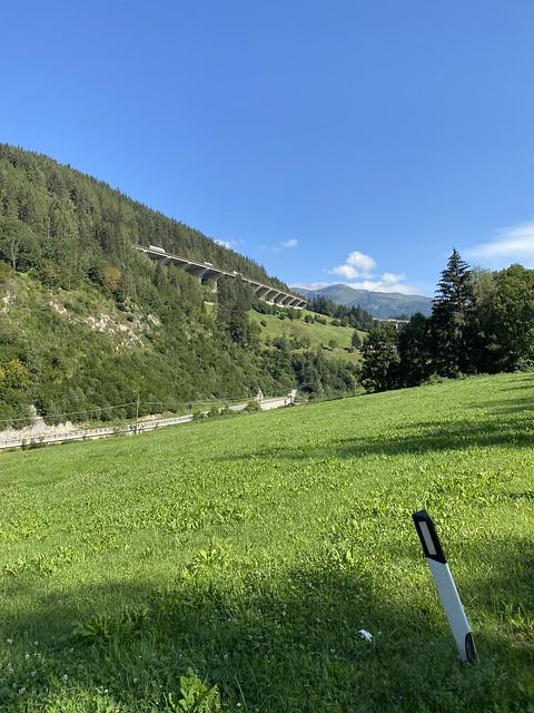 Hinauf auf den Brennerpass