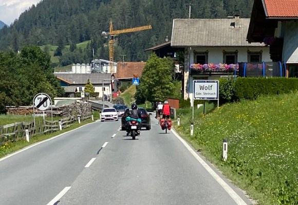 Gefährliche Manöver Brennerpass