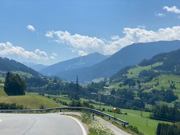 Blick zurück zum Brenner