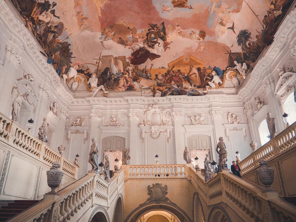 Romantische Strasse Alemania · Turismo de Alemania - Residencia de Würzburgo