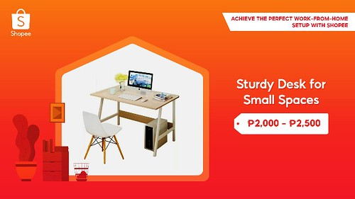 Sturdy Desk Shopee