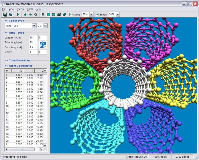 Working with Nanotube Models 1.7.9 full