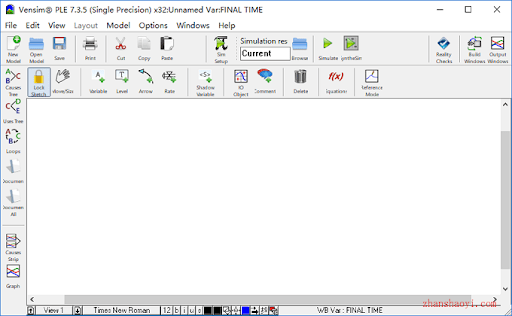 Working with Vensim PLE 7.3.5 full