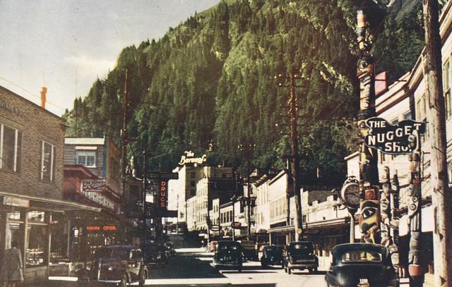 Main Street - Juneau, Alaska