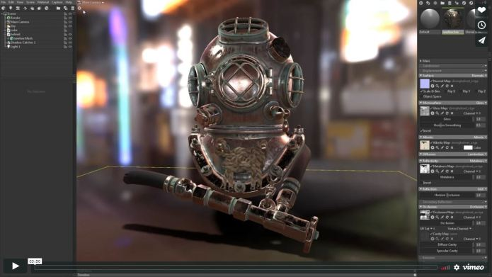 Working with Marmoset Toolbag 3.08 full