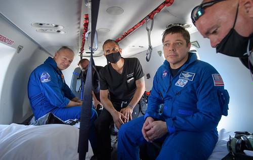 SpaceX Demo-2 Landing (NHQ202008020025)