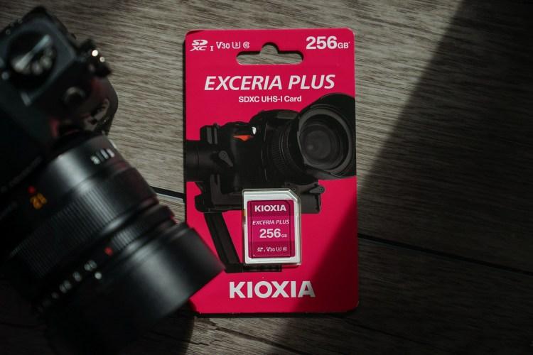 繼承 TOSHIBA 靈魂,為影像工作者帶來穩定儲存空間:KIOXIA EXCERIA PLUS 記憶卡
