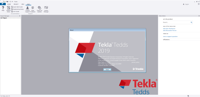 Working with Tekla Tedds 2019 SP3 v21.3.0 full license