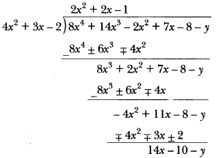 Polynomials Class 10 Extra Questions Maths Chapter 2 with Solutions Answers 14