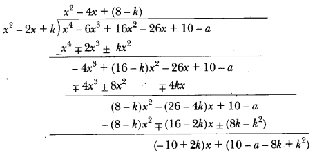 Polynomials Class 10 Extra Questions Maths Chapter 2 with Solutions Answers 30