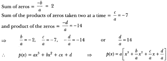 Polynomials Class 10 Extra Questions Maths Chapter 2 with Solutions Answers 22