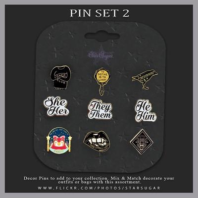 Pin Set 2