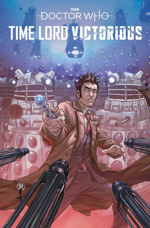Doctor Who Art Preview! TIME LORD VICTORIOUS #1