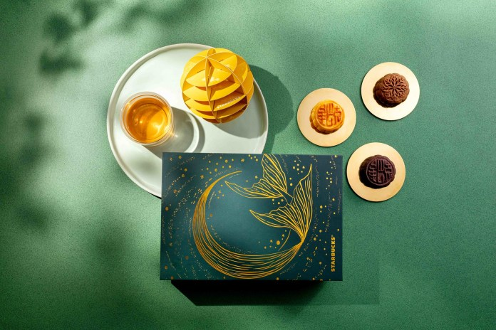 香港星巴克 Starbucks® Mooncake Gift Set_1