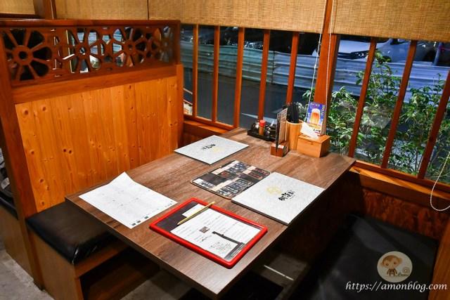 御浜川食事處, 台中平價日本料理, 台中平價海鮮丼, 御浜川食事處用餐環境