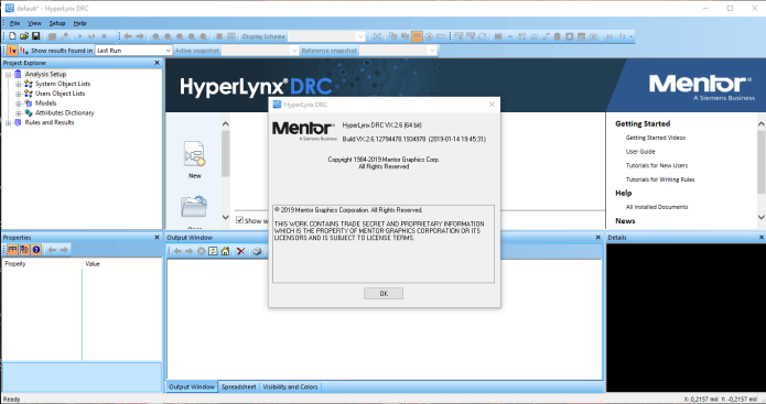 Working with Mentor Graphics HyperLynx VX.2.6 full