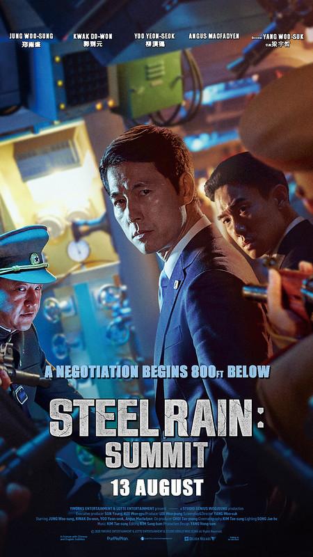 Steel Rain 2 Poster