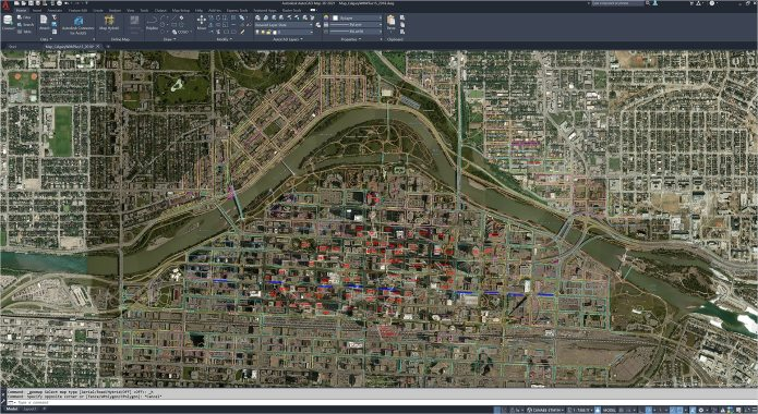 Working with Autodesk AutoCAD Map 3D 2021 full
