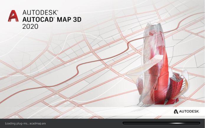Autodesk AutoCAD Map 3D 2020 x64 full